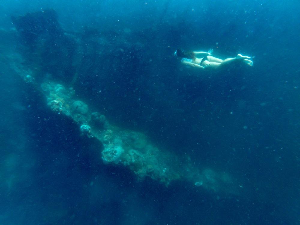 skeleton wreck coron island hopping
