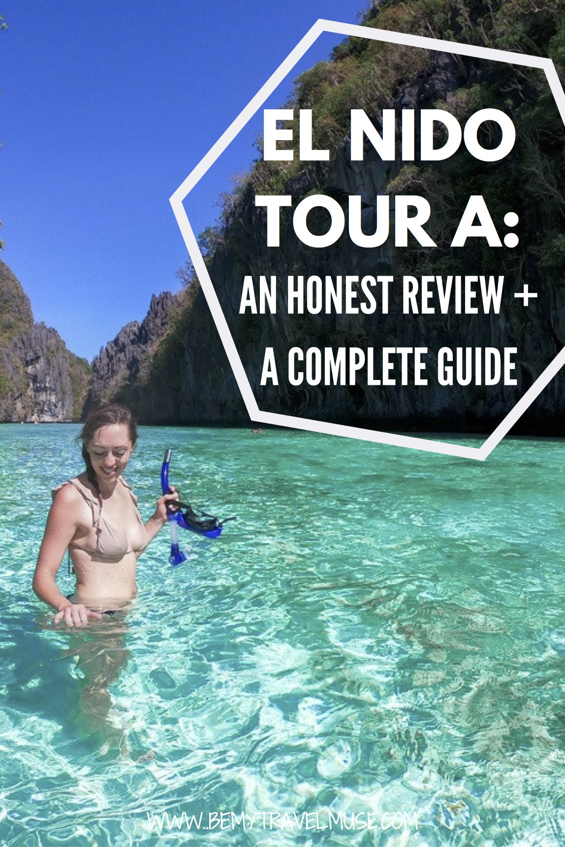 A complete guide to El Nido Tour A, an awesome island hopping tour around the beautiful islands in El Nido, Palawan, the Philippines. Check out the stops, which includes a secret lagoon, snorkeling spots, food options, and a list of things to bring with you. This is the only guide you will need, if you are joining Tour A!