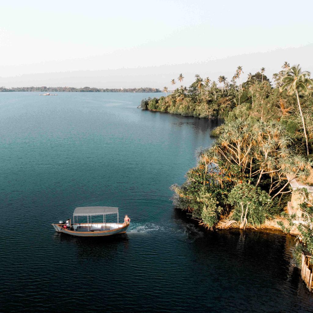 koggala lake boat ride