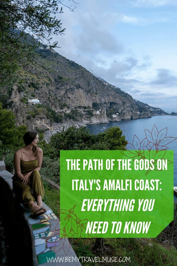Offset the gelato and pasta with a hike to the Path of the Gods on Italy's Amalfi Coast! This guide will help you fully prepare for the hike - click to read now!
