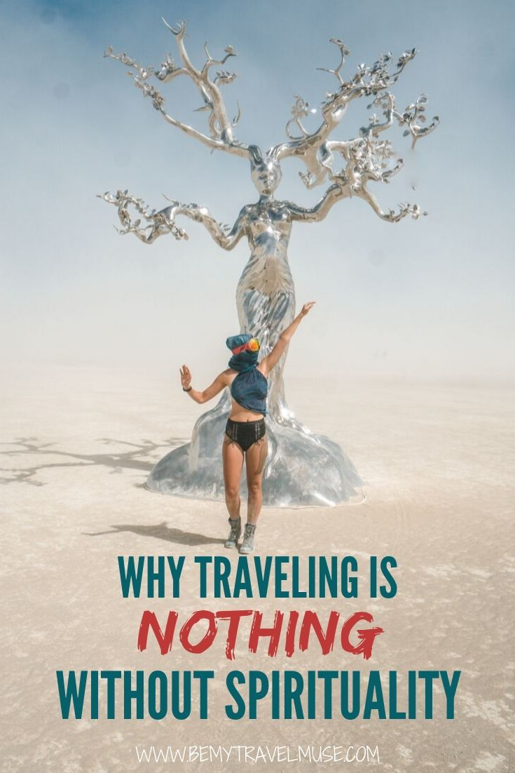 Click to read why traveling is NOTHING without spirituality. Every journey you take is a spiritual journey. This is especially true if you are a solo female traveler.