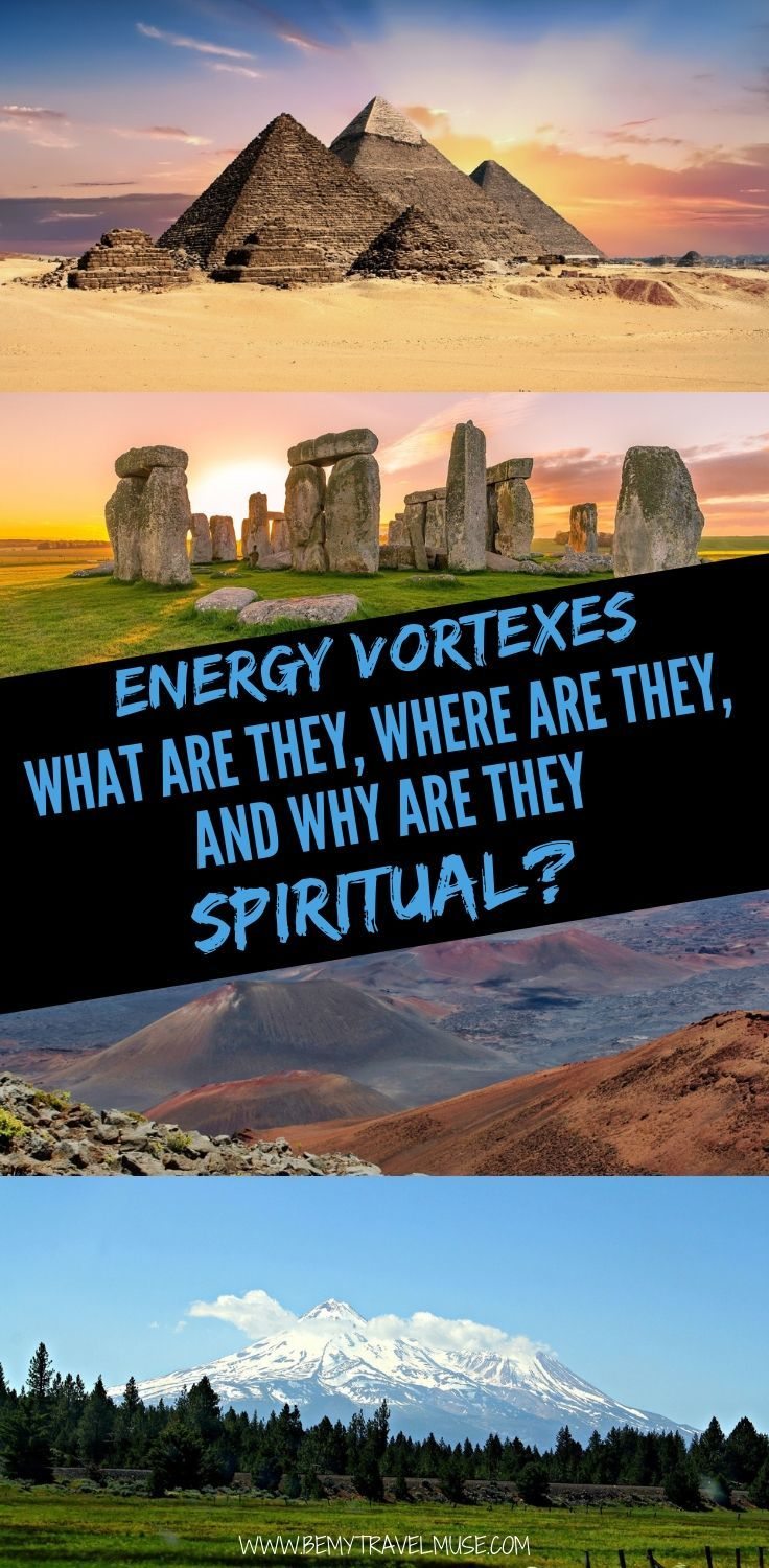 What are energy vortexes? Where can you find energy vortexes around the world? Why are energy vortexes spiritual? In this post, you will find answers to this questions, plus 8 examples of energy vortexes around the world. Click to read now, especially if you are into spiritual travel! #EnergyVortex