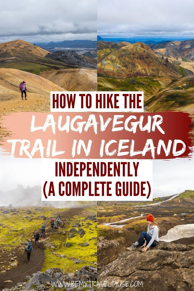 Click to get all of the information you need to hike the Laugavegur Trail in Iceland independently. A full itinerary, packing list, and essential information like where to start your hike and where to stay included. #Laugavegur #Iceland
