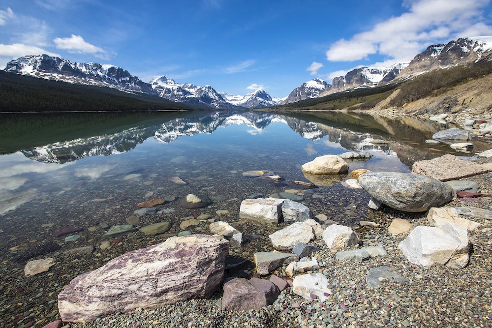 glacier national park things to do many glacier