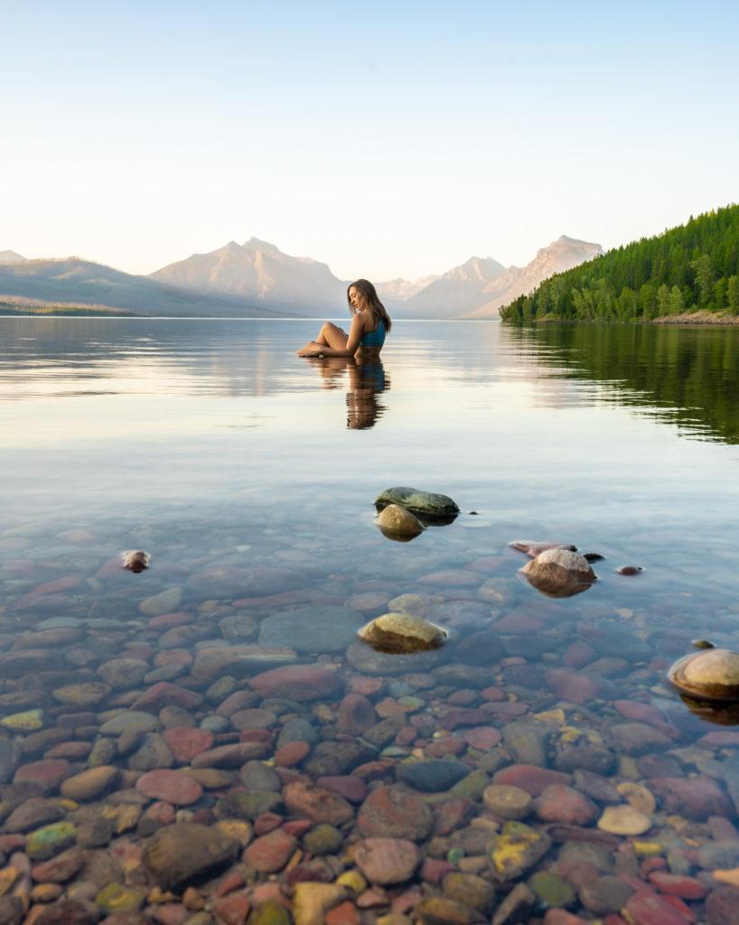 glacier national park things to do lake mcdonald