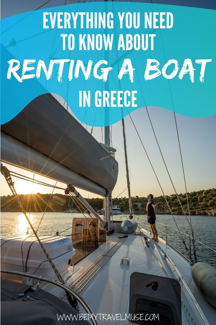 A complete guide to renting a boat in Greece that will allow you to sail and island hop. Different options including the yacht week, boat charters, and the med sailors included (with reviews and budget), plus some essential prepping items to help you plan an amazing trip! #Greece #GreeceTravelTips