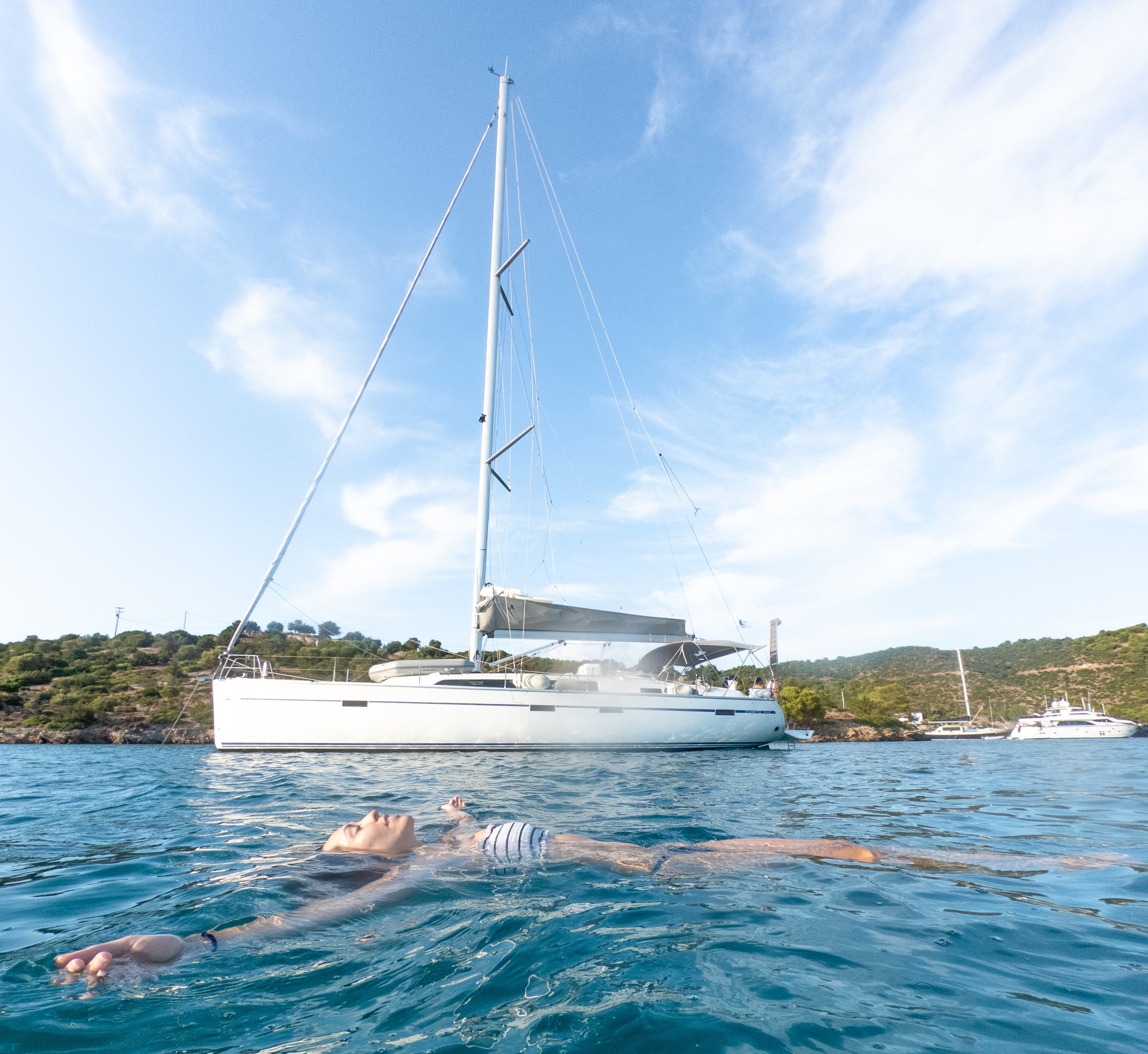 how to rent a boat in greece