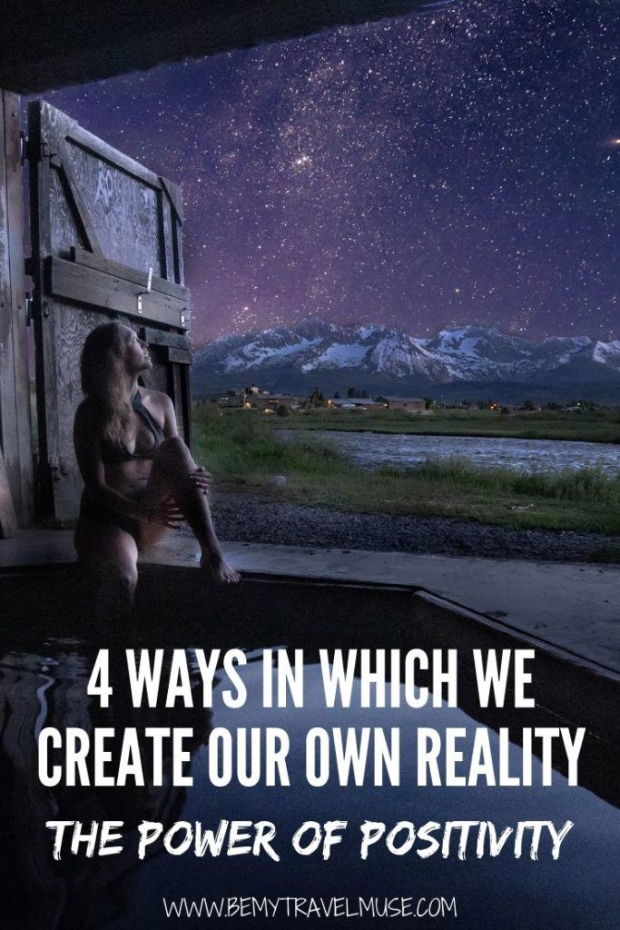 With the power of positivty, we can create our own reality. Learn more about the law of attraction, how perception is reality, and that the universe is participatory, as well as our powerful impact on one another.
