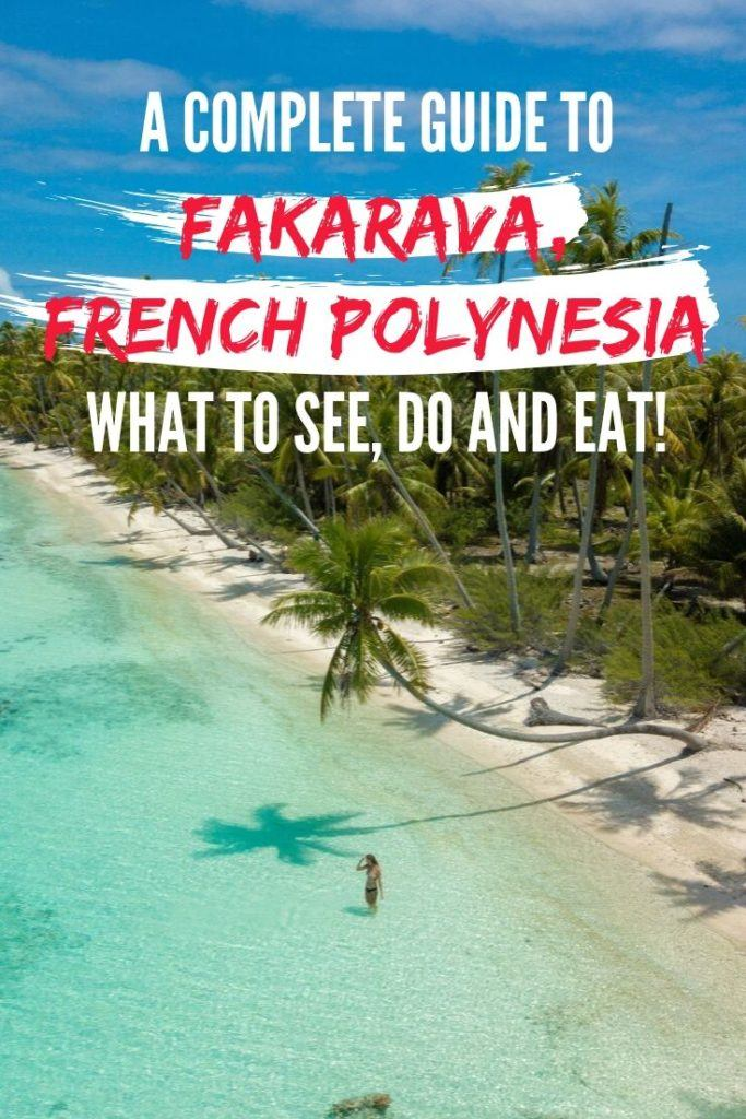 A complete guide to beautiful Fakarava, located in French Polynesia. Click to read how to get to Fakarava, what to see and do, where to stay, how to get around, and what to eat!