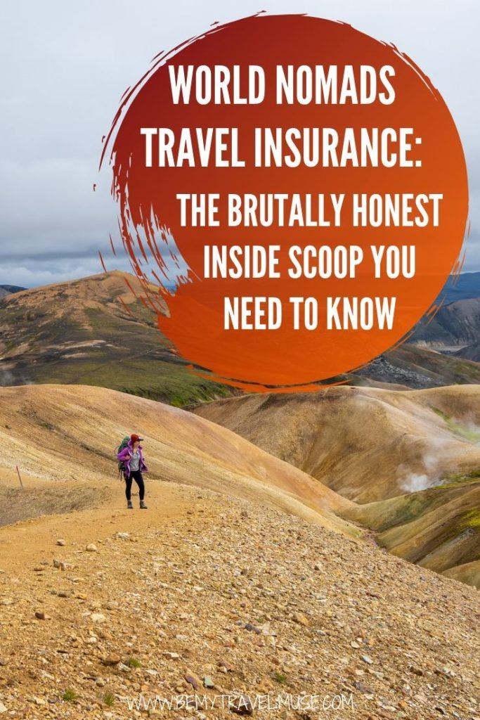 Here's a brutally honest review of the World Nomads travel insurance with everything you need to know. Find out if World Nomads is the right travel insurance for you, and the coverage you need based on the way you travel. #worldnomads