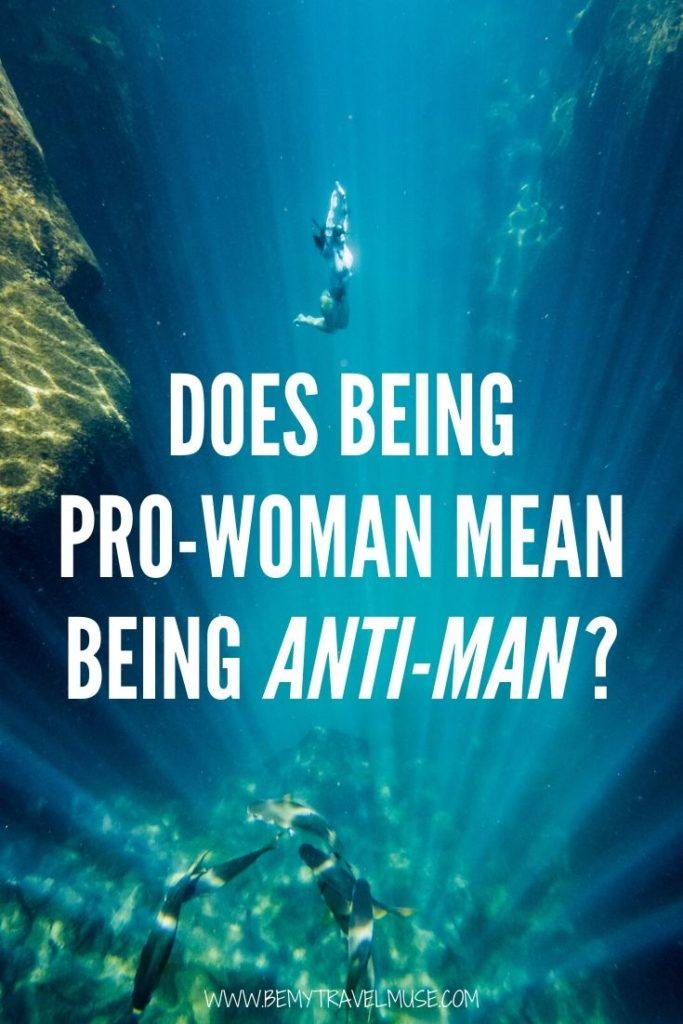 Does being a feminist mean you hate men? Does being pro-woman mean being anti-man? In this article, I share my research and perspective on what feminism is, and what isn't. Click to read the article and join the discussion. #Feminism