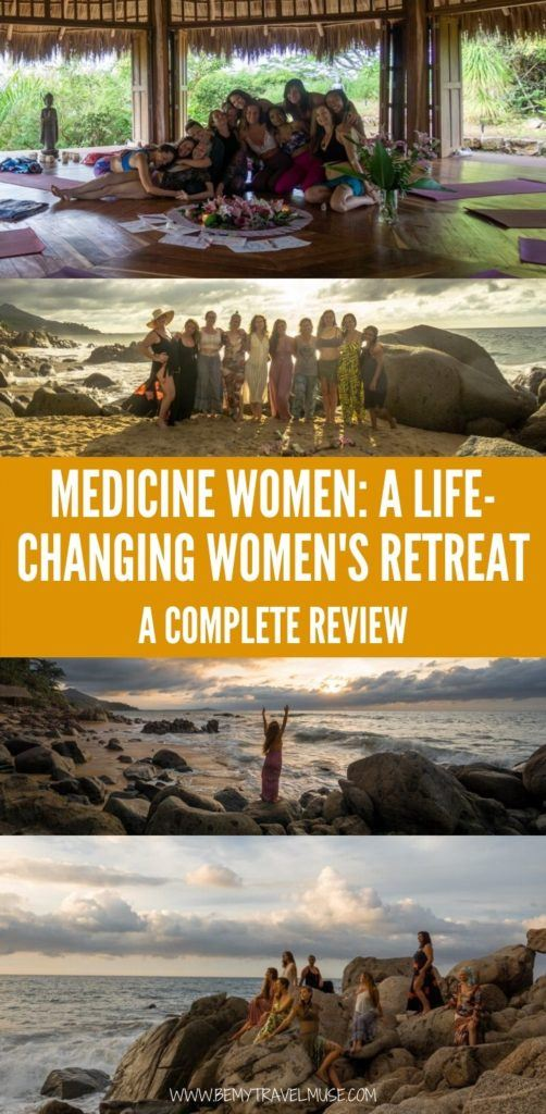 My honest review on Camilie Willemain's Medicine Women retreat, a spiritual retreat that combines yoga, breath work, dance, Ho'oponopono, vulnerable sharing circles, and rituals in beautiful destinations around the world.