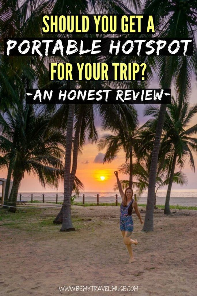 Do you need a portable hotspot for your trip? I have always relied on a local SIM card and public WiFi to stay connected on the road, but on my recent trip to Mexico, I got a portable hotspot from Global Vision instead, and here's my honest review.