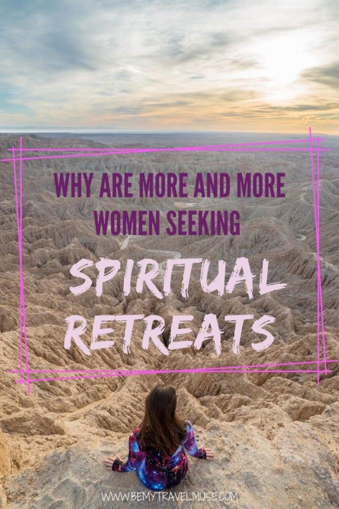 Click to read why more and more women are seeking spiritual retreats around the world. If you are on your own spiritual journey, this post will give you more insight as well as women's retreat recommendations!