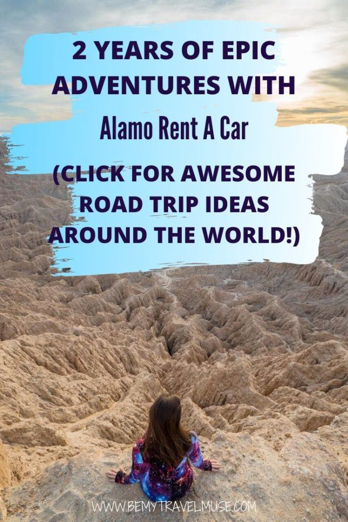 When it comes to wonderful ways to travel, there's very little in my book that can beat exploring a destination in a rental car. This post contains some of my favorite road trip adventures all over the USA and beyond as part of my partnership with Alamo Rent A Car. Click to check it out now!