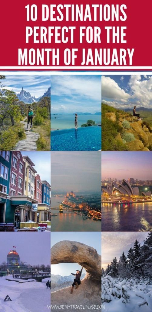 Here are 10 perfect destinations to travel to in the month of January, including Finnish Lapland, South Africa, the California deserts, Patagonia, Thailand, and so on. If you are indecisive where to go, click to check the list now!