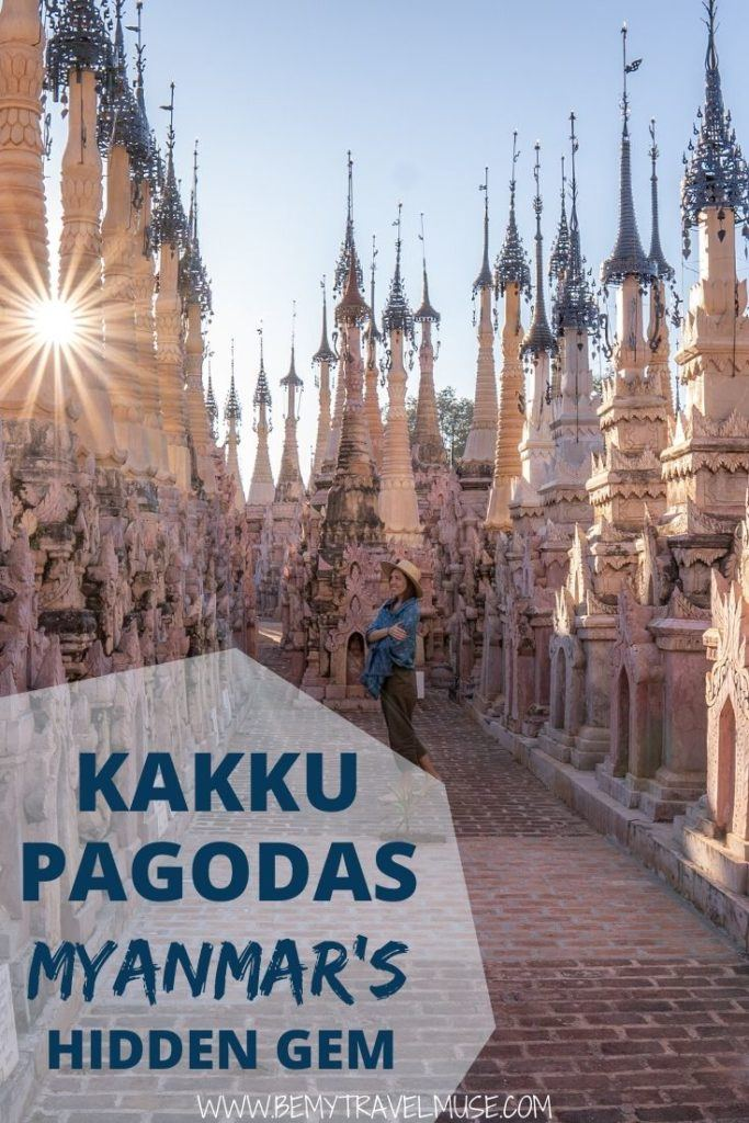 Looking for a hidden gem in Myanmar? Check out the Kakku Pagodas, an off the beaten path spot that's near Inle Lake, minus the crowd! Click for a complete guide to help you plan a trip to the Kakku Pagodas now.