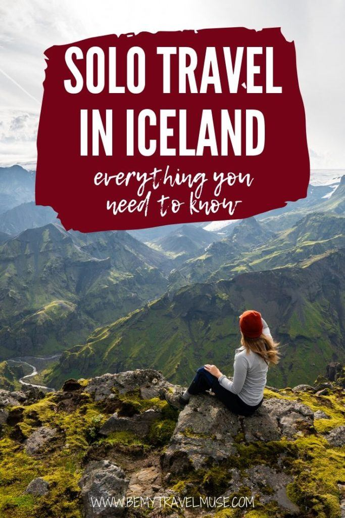 Planning a solo trip to Iceland? Here's everything you need to know, including safety, friendliness, weather, things to do, and what to pack to have an amazing trip in Iceland. #Iceland
