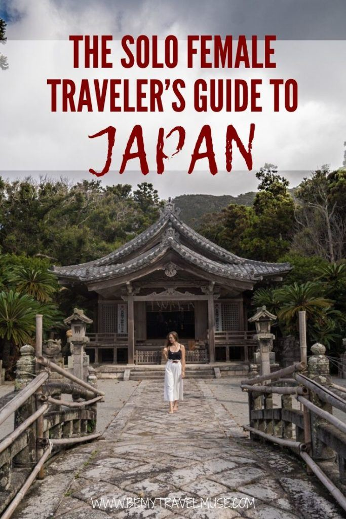 The ultimate guide to solo female travel in Japan, with insider tips on safety, things to do, when to go, what to pack, and more! Whether you are planning a quick holiday around Tokyo, or an extensive trip all over Japan, this guide will help you make the most out of your time in Japan. #Japan