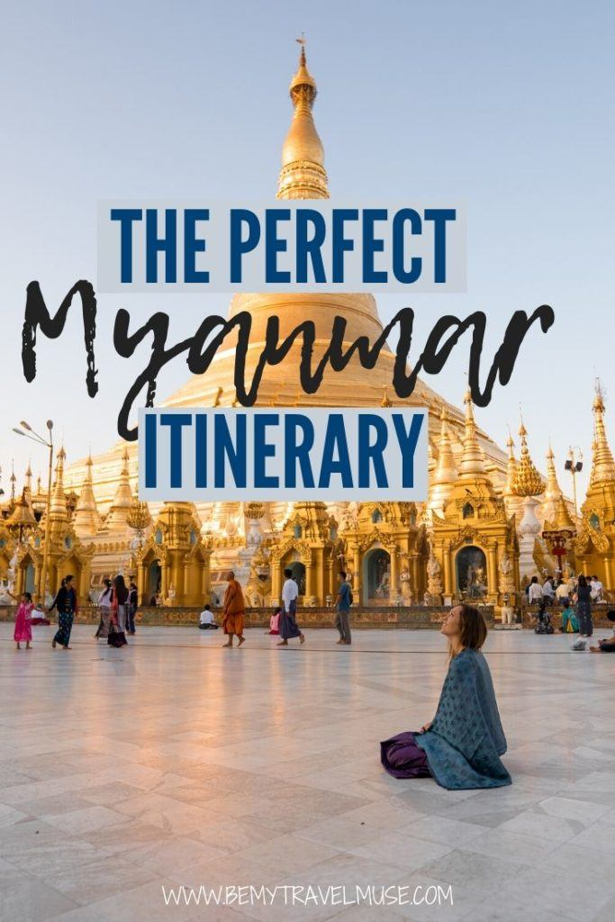 Planning a backpacking trip to Myanmar? Here's the perfect itinerary with a complete backpacking route along both popular and off the beaten path spots, including Yangon, Inle Lake, Bagan, as well as Hsipaw, Ngapali, and even a local festival. Get insider tips on getting around, accommodation, and so much more. #Myanmar