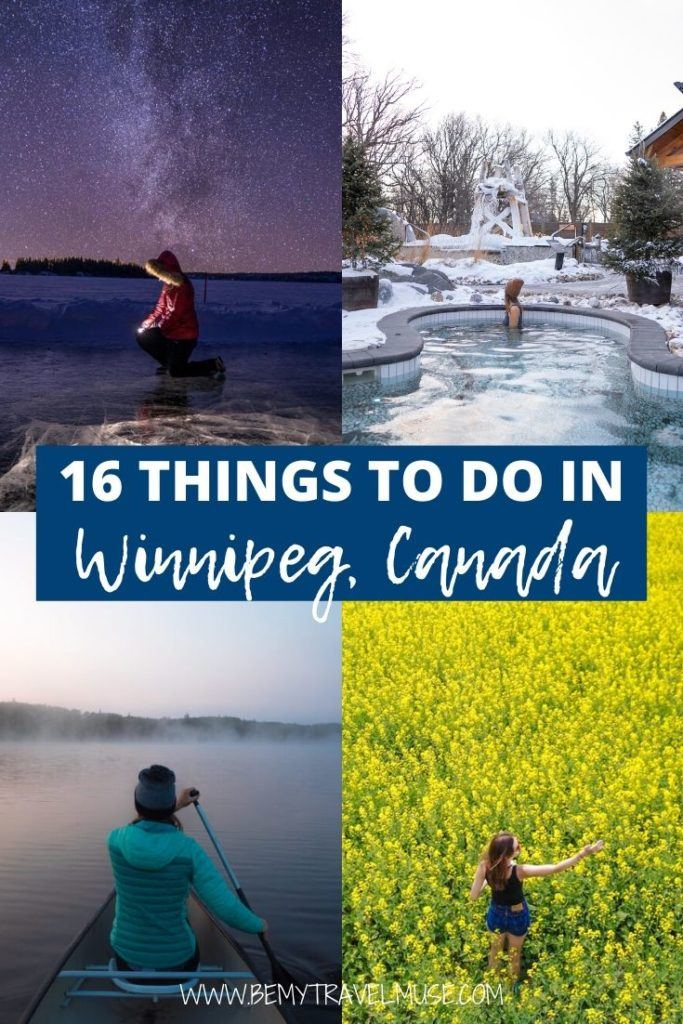 Winnipeg is Canada's awesome hidden gem that's well worth visiting, especially in both summer and winter! Click to see 17 amazing things to do in Winnipeg. #Winnipeg #Canada
