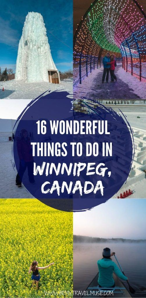 Winnipeg, Canada, is a hidden gem that's full of wonderful things to do, including hockey games, the world's biggest ice maze, stargazing and so much more. Click for a full list and plan a trip to Winnipeg soon! #Canada #Winnipeg