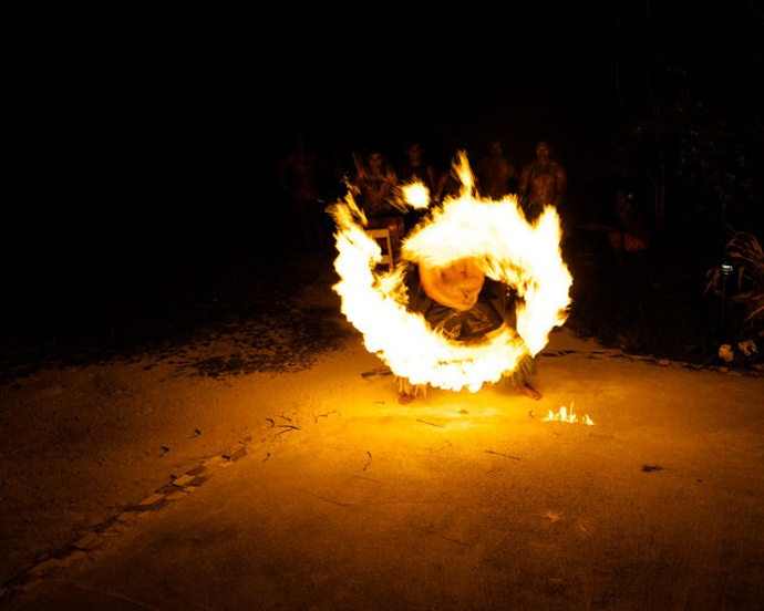 10 top things to do in Samoa - Fia Fia Night Fire Show