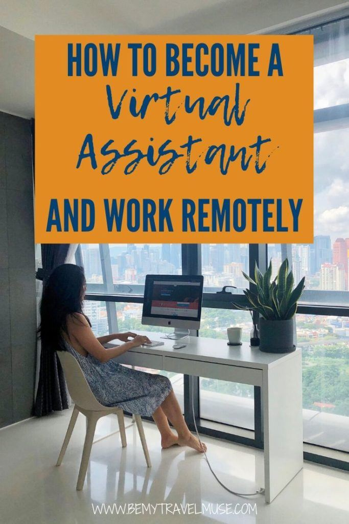 Looking for a job that will allow you to work remotely or work from home? Here's a complete guide to becoming a virtual assistant, including how to find a virtual assistance job online, the expected job scope, pros and cons, and so much more. #VirtualAssistant