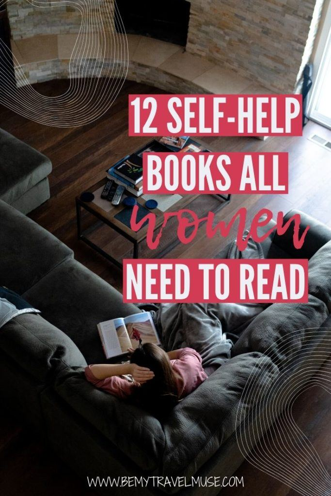 Looking for books that focus on self-help and personal development for women? Here are 12 great books, most of which available on audiobook format, to help you improve yourself, be happier and live a fulfilling life. #Selfhelp