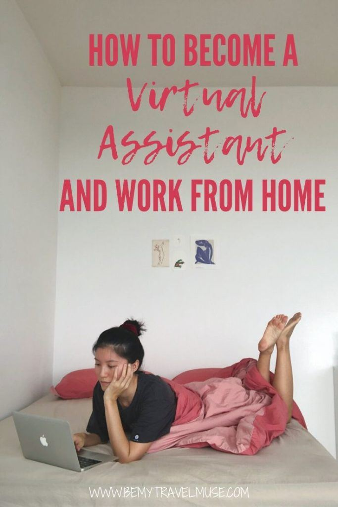 Become a virtual assistant so you can make income while working from home or remotely. Click to read a complete guide by a virtual assistant to a travel blogger. #VirtualAssistant