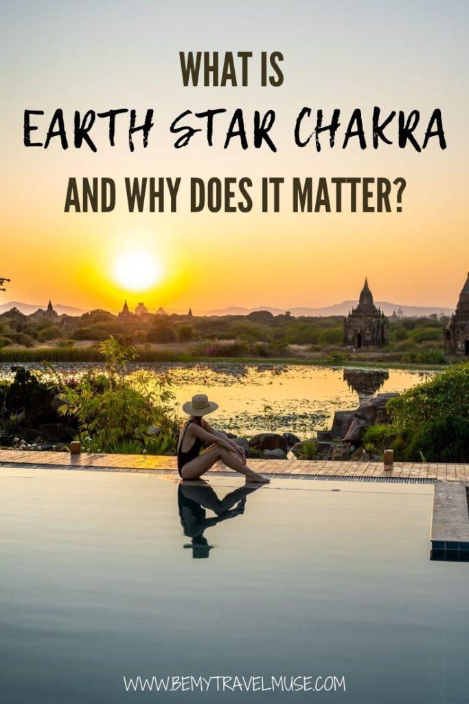 What is earth star chakra and why does it matter? Click to find out and learn more on how do we take care of the earth star chakra. #Chakra