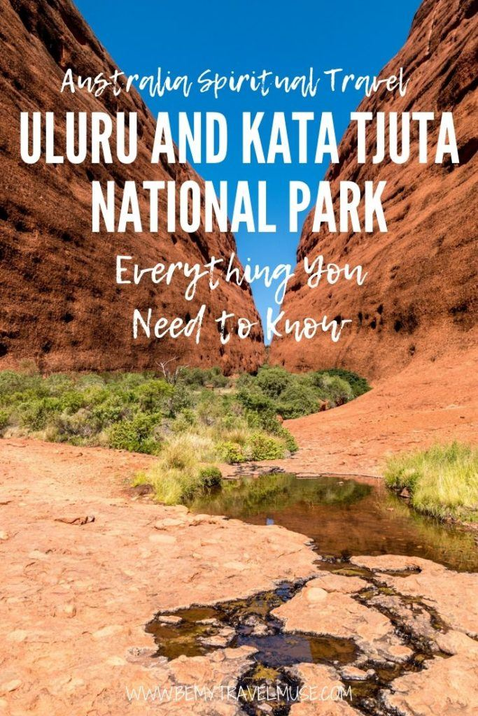 Australia spiritual travel guide to Uluru and Kata Tjuta National Park, an Australian icon with amazing views and spiritual healing elements. Click for a full guide with things to do, best places to stay, and other essential tips to help plan your trip! #Uluru #KataTjuta