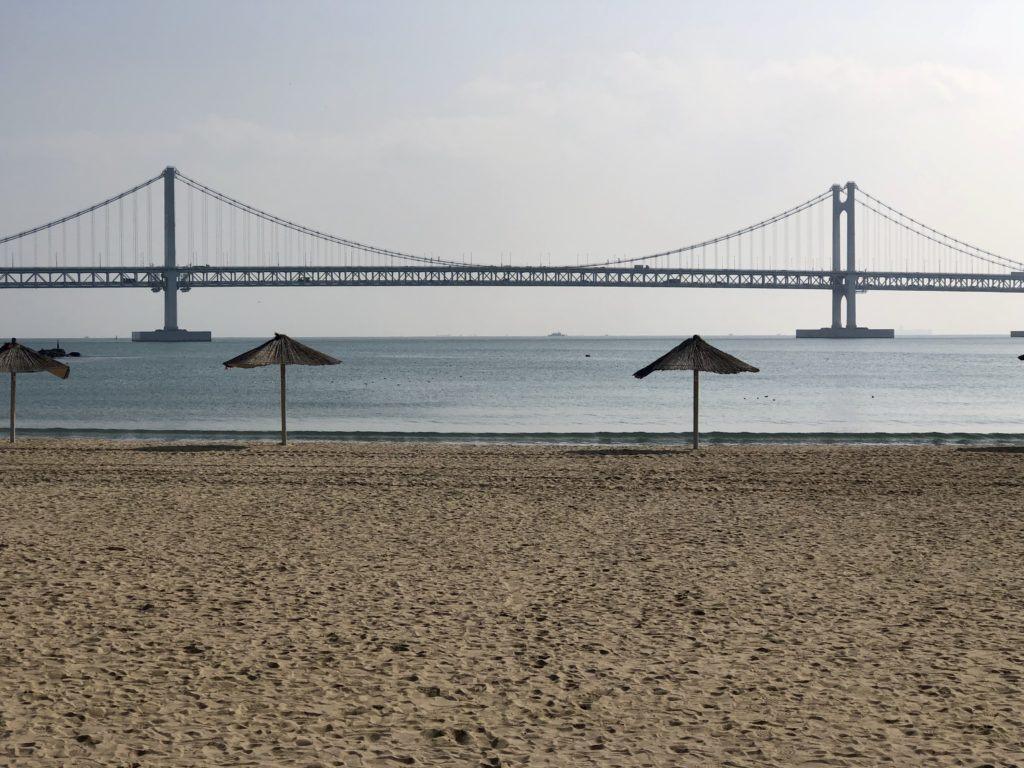 Bridge in Busan, South Korea