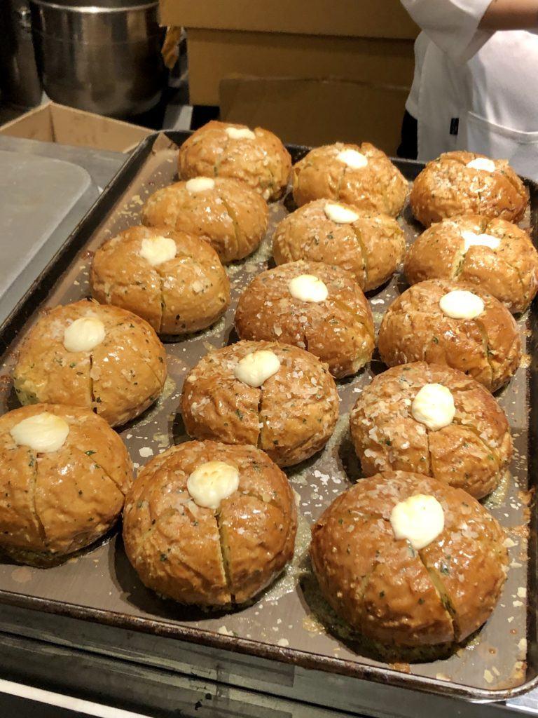 Garlic bread in South Korea