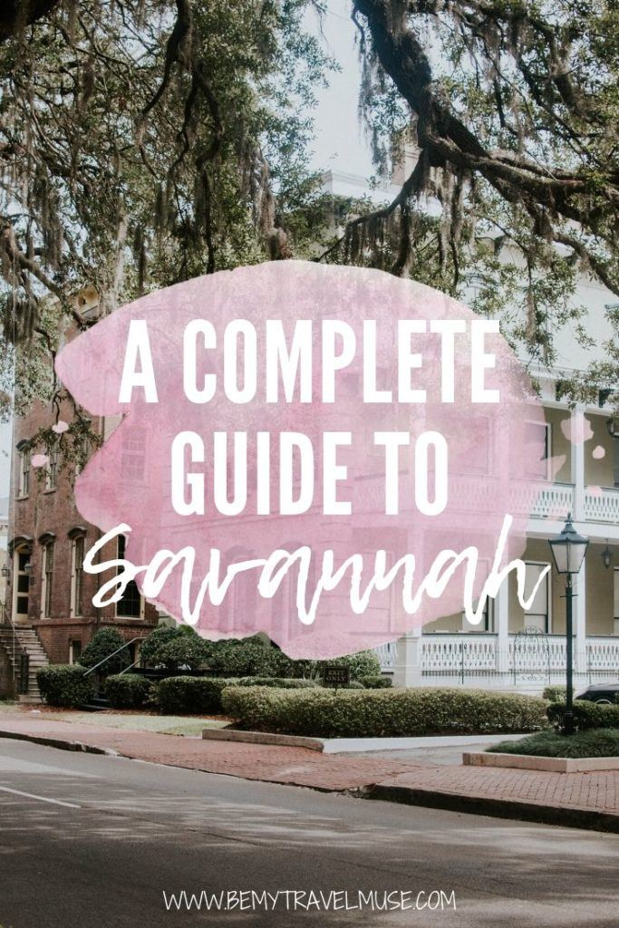 Savannah is a charming Southern city  perfect for a weekend (or longer) getaway. While there are all kinds of tours to help you get to know Savannah, the city is just as fun explored independently. Click for a complete guide to Savannah, including the best things to do and insider tips to help you plan your trip! #Savannah