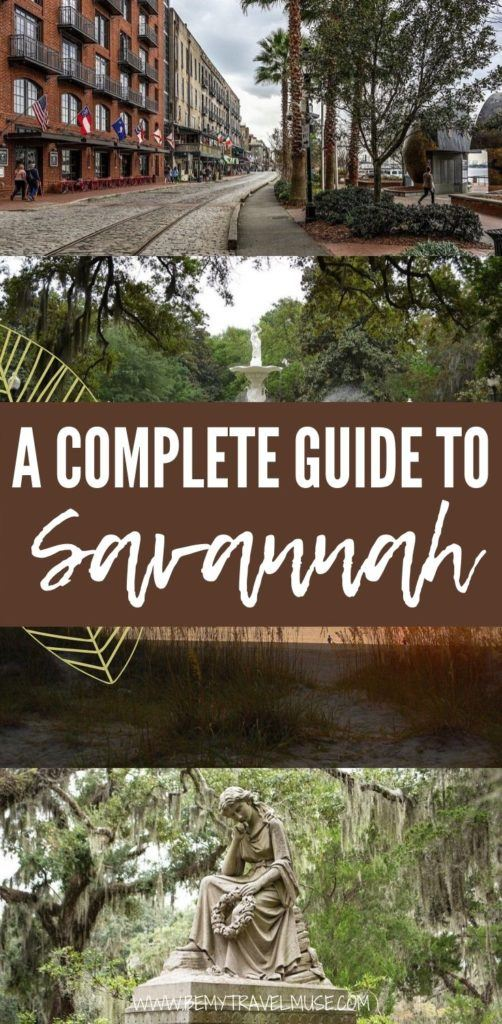 How to get to and around Savannah, what are the best things to do in Savannah, how to stay safe while traveling solo in Savannah - this post answers all of your questions to help you plan the best trip to Savannah! #Savannah