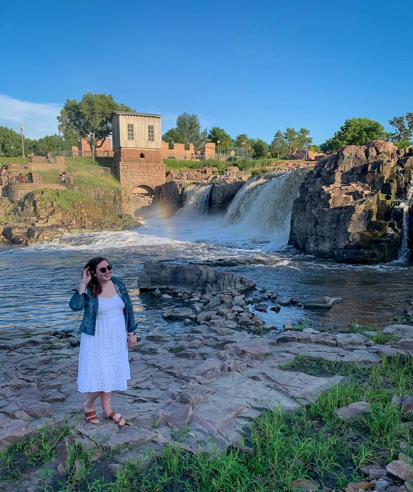 Sioux Falls South Dakota Waterfall
