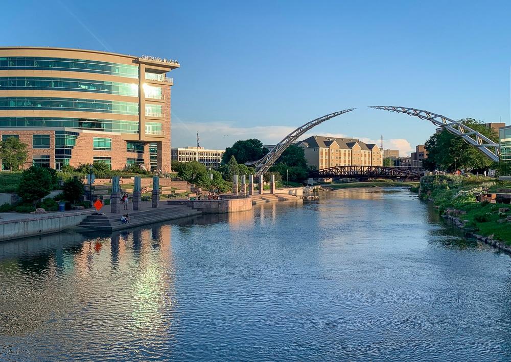 Sioux Falls South Dakota Riverwalk
