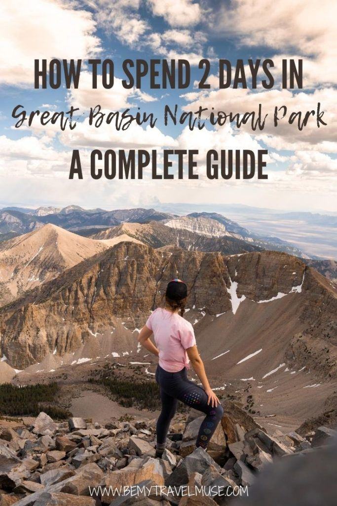 A wonderful overnight road trip in Basin National Park, Nevada, with a complete itinerary, best things to do, how to get there, the best campgrounds to stay in, and photos to help you plan your road trip. #Nevada
