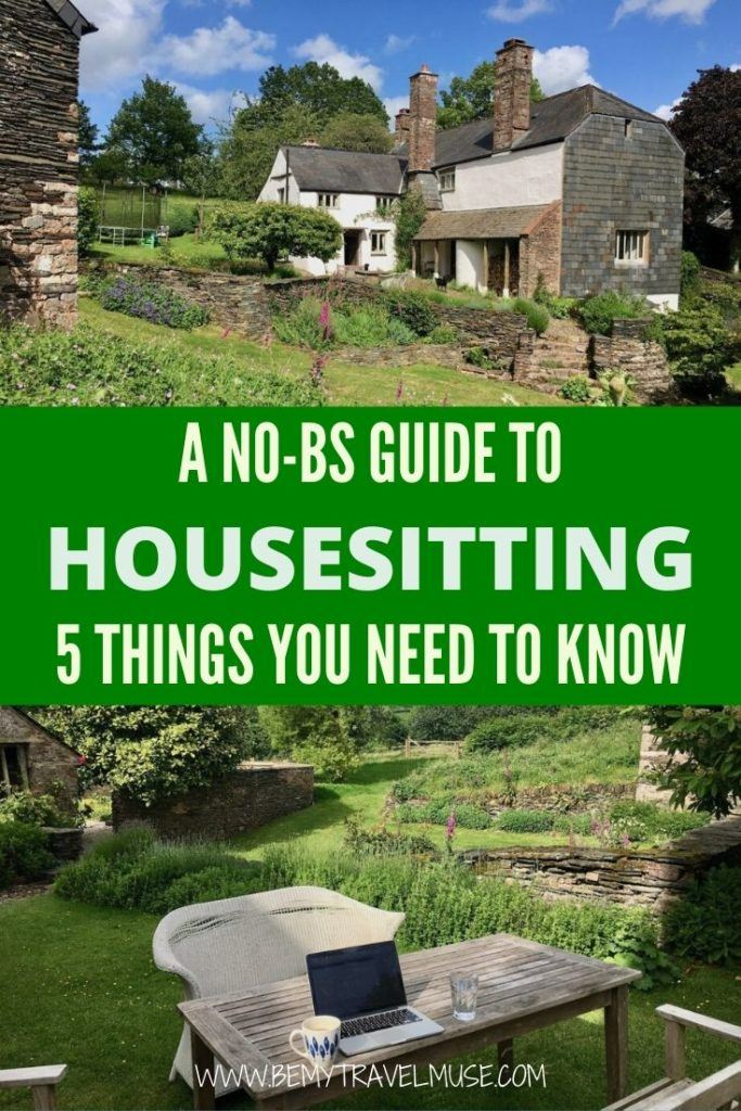 A complete guide to housesitting and traveling the world for free! 5 essential things you need to know, plus insider tips from an experienced housesitter to get you started.