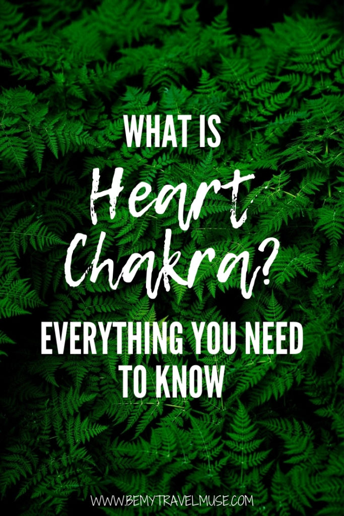 What is heart chakra? Here's everything you need to know! Learn its location, meaning, ways to balance it, what to do when it's imbalanced, plus words of affirmation to help strengthen your heart chakra. #heartchakra #chakra