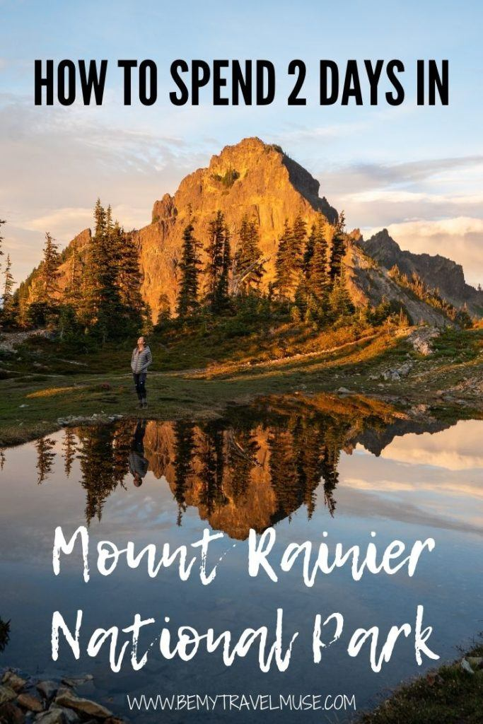 Use this guide to plan the perfect 2-day stay in Mount Rainier National Park! Find out what the best things to do in Mount Rainier National Park are, best time to visit Mount Rainier National Park, and where to stay when you are there. #MountRainier