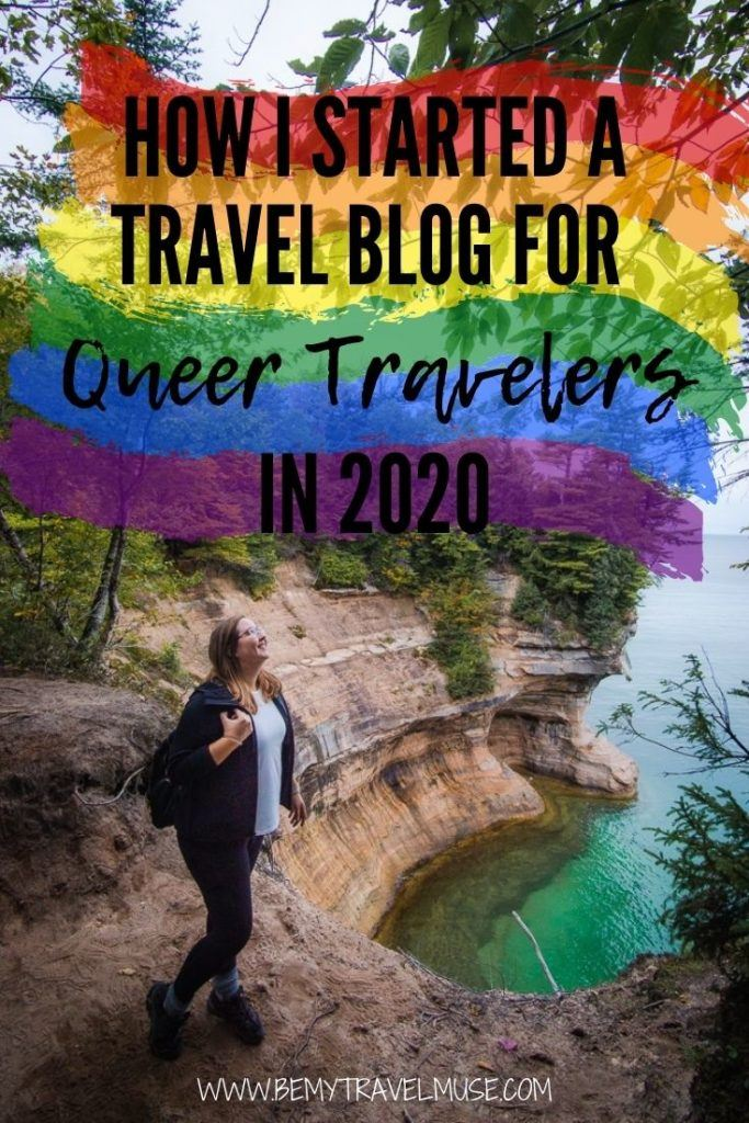 How Jennifer started a travel blog for queer travelers in 2020. You may be wrong to think that 2020 is the worst year to start a travel blog, because it might just be the complete opposite! This queer travel blogger successfully launched her travel blog that focused on LGBTQ+ travel in 2020. Click to read the full story and get her best tips! #LGBTQTravel #TravelBlogger