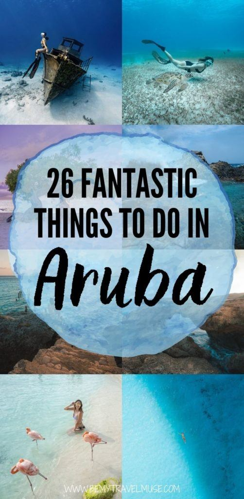 26 best things to do in Aruba, that include outdoor adventures such as scuba diving, snorkeling, hiking, as well as relaxing activities like spa, cruise, dining, and so on. Hotel recommendations included! #Aruba