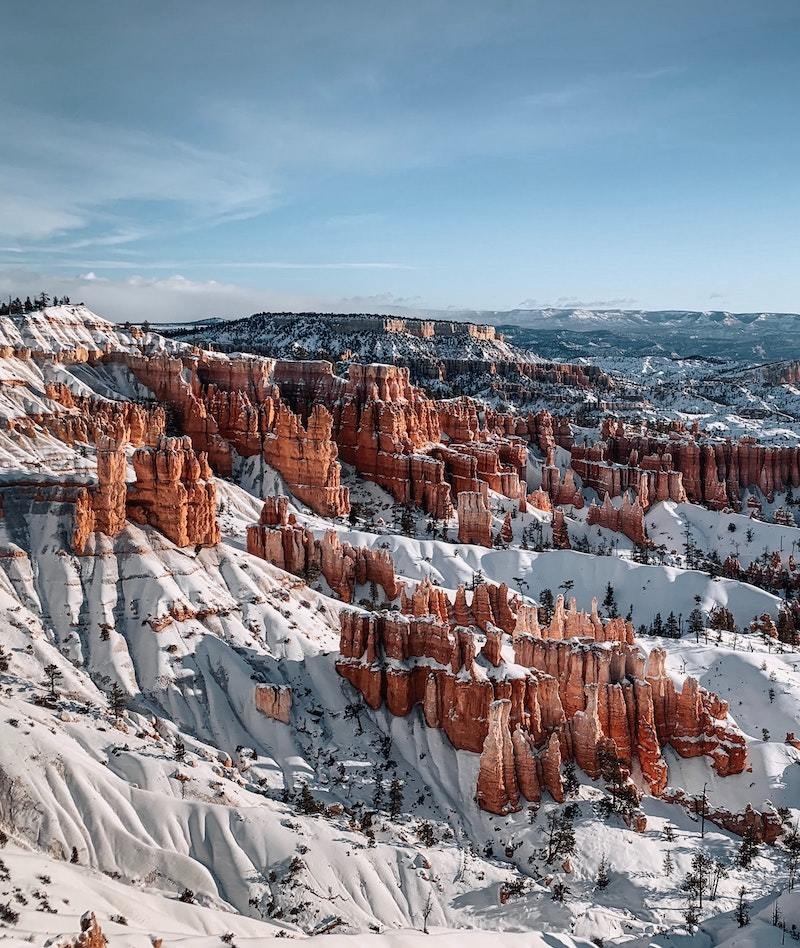 bryce canyon national park winter