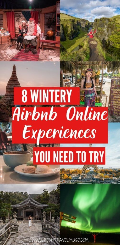 8 wintery, festive Airbnb Online Experiences you need to try with your loved ones this holiday. Planning a unique virtual get-together, or looking for interesting ways to bond with your family and loved ones? These Airbnb Online Experiences are perfect for you. Click to see them now! #ad #Airbnb