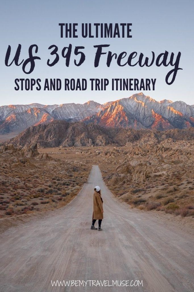 The US 395 Freeway: 15 amazing stops + a complete road trip itinerary. Check out some of the best things to do, slight detours, and stops to make on the US 395 freeway, one of my favorite road trips in California.