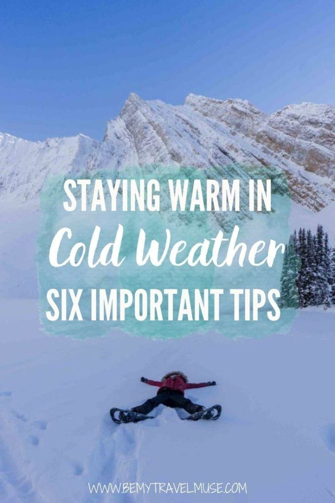 Six clever ways to stay warm in cold weather, especially if you are planning on exploring the great outdoors this winter! Learn my best tricks on keeping your food warm in cold weather, the art of layering and some other smart hacks to keep you safe and warm this winter.