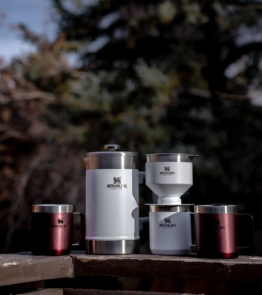 best coffee set for winter outdoors