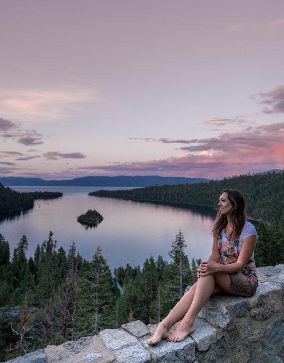 lake tahoe emerald bay sunset